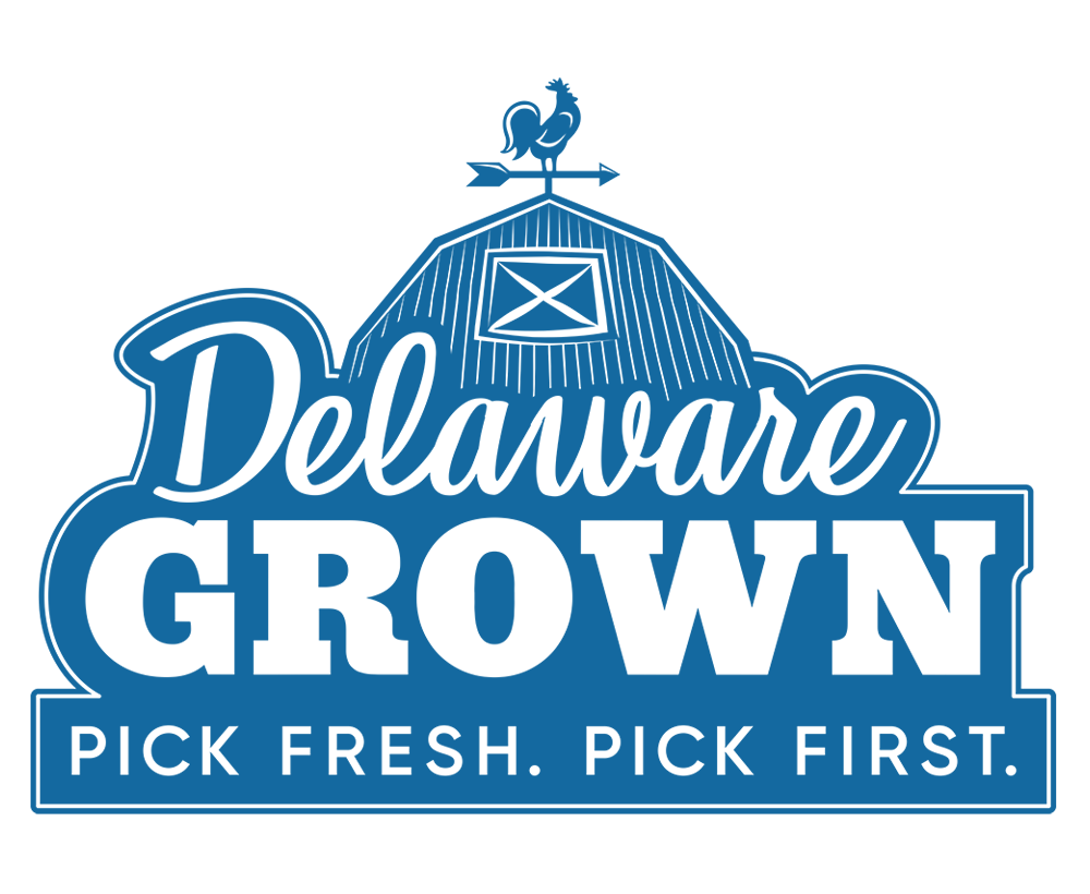 Image of the Delaware Grown logo