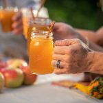 Image of apple cider in a mason jar